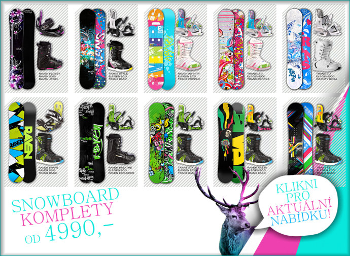 a69f12b7ed Snowboard shop - snowboard komplety za 5390